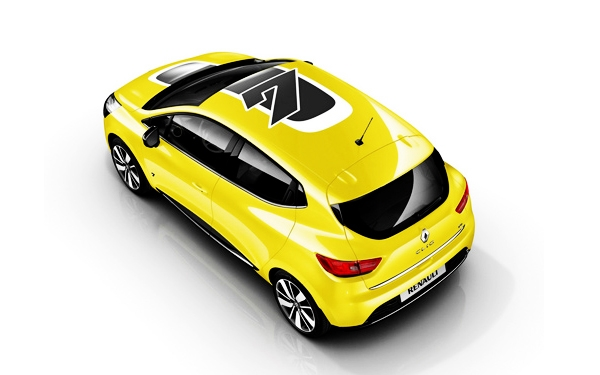 Renault Clio top view