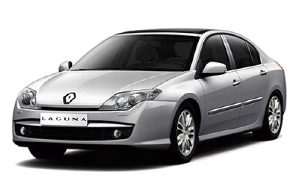 Renault Laguna left side view