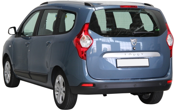 Renault Lodgy Exterior Rear Side View