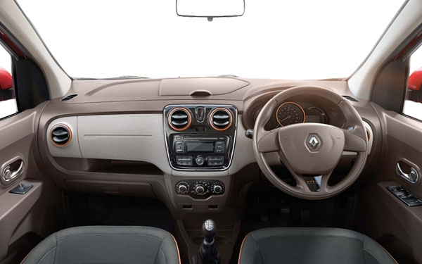 Renault Lodgy Interior Front View