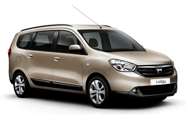 Renault Lodgy Right view