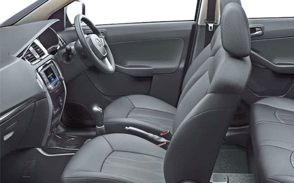Tata Bolt Interior Front Side View