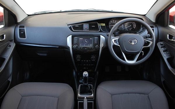 Tata Bolt Interior Front View
