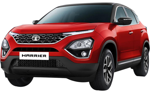 Tata Harrier Exterior Front Side View (Calypso Red)