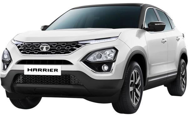 Tata Harrier Exterior Front Side View (Orcus White)