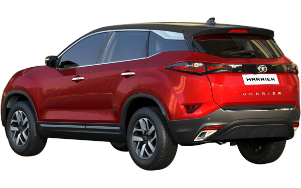 Tata Harrier Exterior Rear Side View