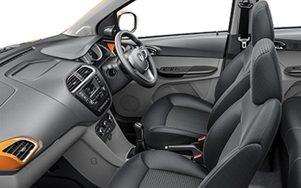 Tata Tiago  Interior Front Side View