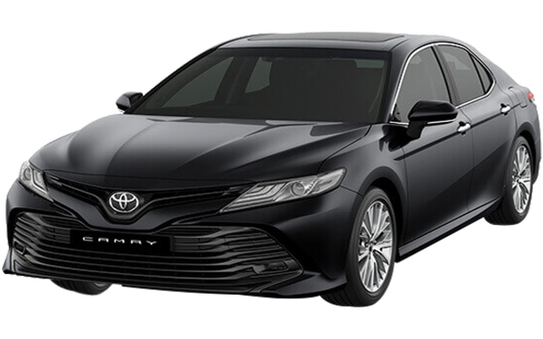 Toyota Camry Exterior Front Side View (Attitude Black)