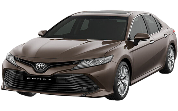 Toyota Camry Exterior Front Side View (Graphite)