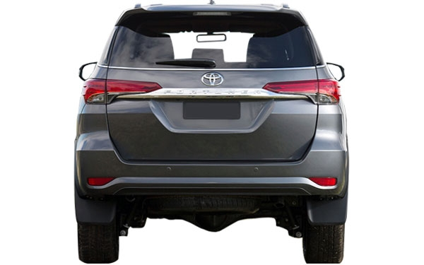Toyota Fortuner Exterior Rear View