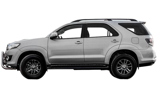 Toyota Fortuner Exterior Side View