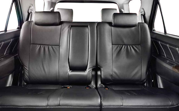 Toyota Fortuner Interior Rear View