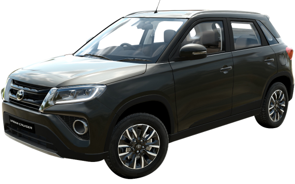 Toyota Urban Cruiser Exterior Front Side View (Iconic Grey)