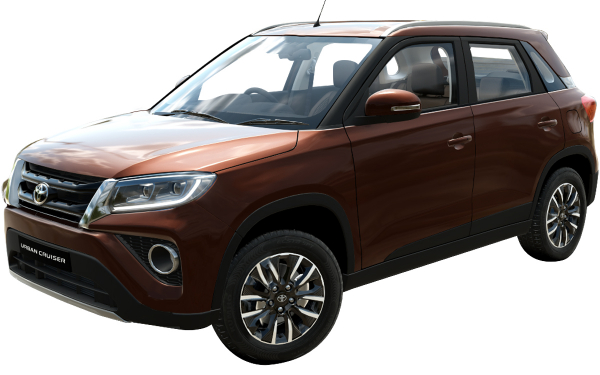 Toyota Urban Cruiser Exterior Front Side View (Rustic Brown)