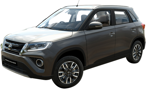 Toyota Urban Cruiser Exterior Front Side View (Suave Silver)