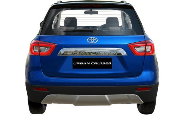Toyota Urban Cruiser Exterior Rear View