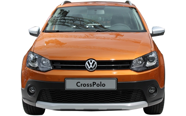 The exterior of the Volkswagen CrossPolo Photo 0
