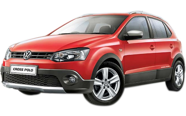 The exterior of the Volkswagen CrossPolo Photo 4