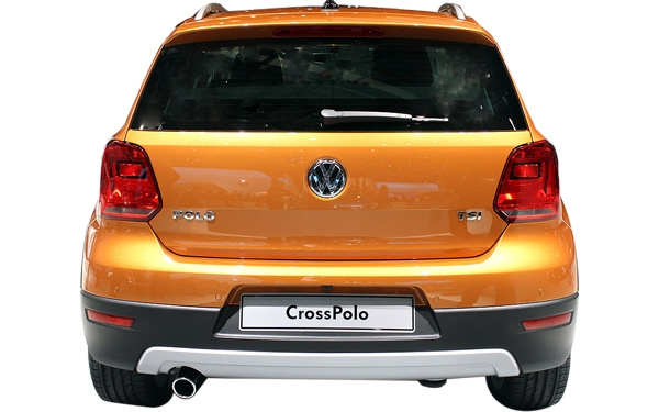 The exterior of the Volkswagen CrossPolo Photo 2