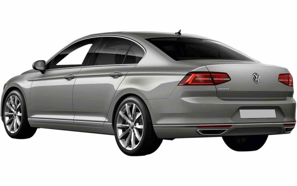 Volkswagen Passat Exterior Rear Side View
