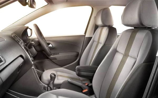 Volkswagen Polo AllStar Interior Front Side View