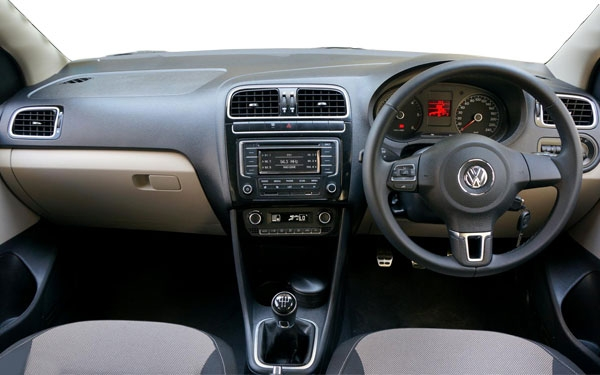 Volkswagen Polo Interior Front View