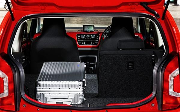 Volkswagen Up boot space view