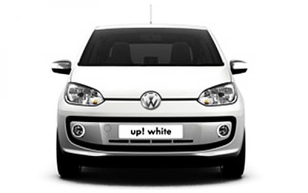 Volkswagen Up front view