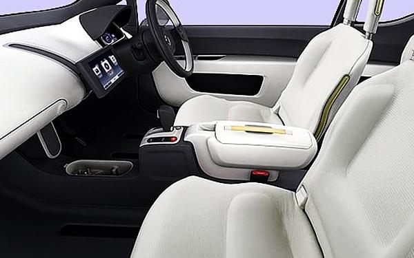 Volkswagen Up interior seating
