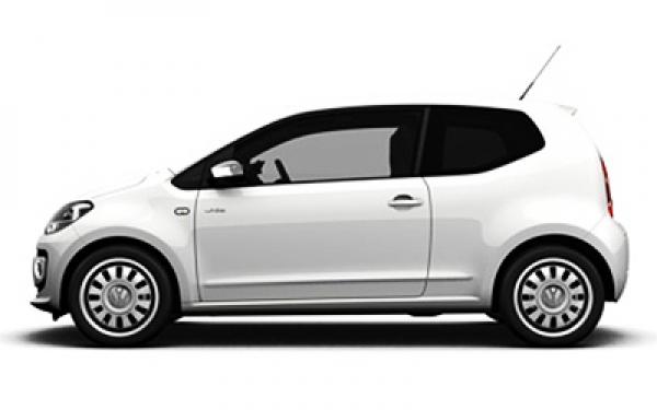 Volkswagen Up left side angle