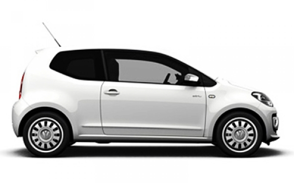 Volkswagen Up right side angle