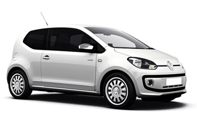 Volkswagen Up side view angle