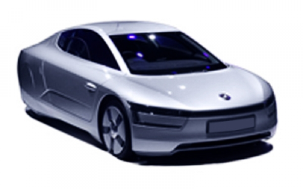 Volkswagen XL1 right side view