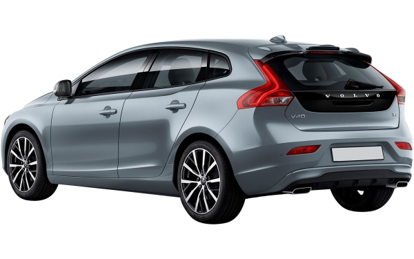 Volvo V40 Exterior Rear Side Vew