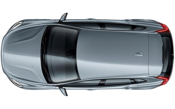 Volvo V40 Exterior Top Vew