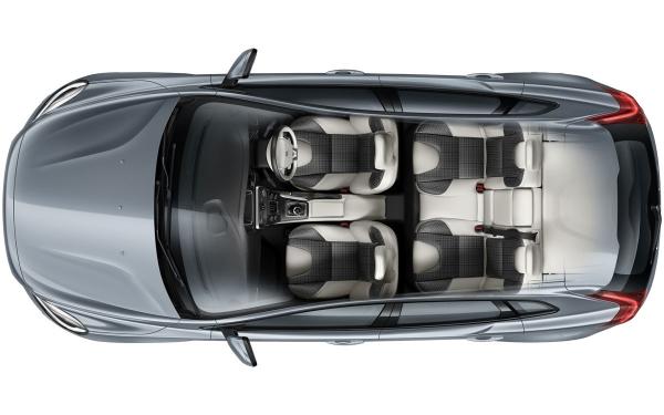 Volvo V40 Interior Top Vew