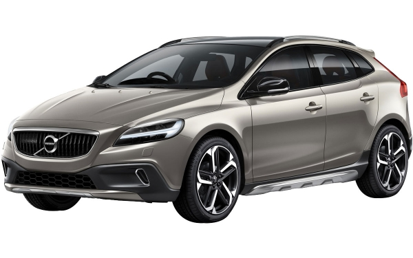 Volvo V40 Cross Country  Exterior Front Side View