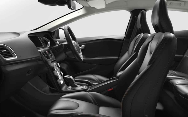 Volvo V40 Cross Country Interior Front Side View