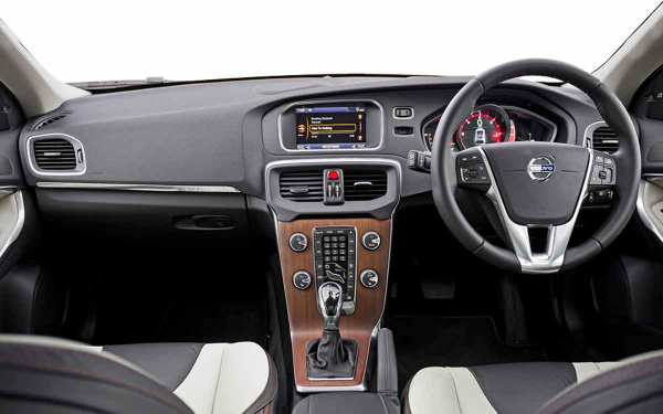 Volvo V40 Cross Country Interior Front View