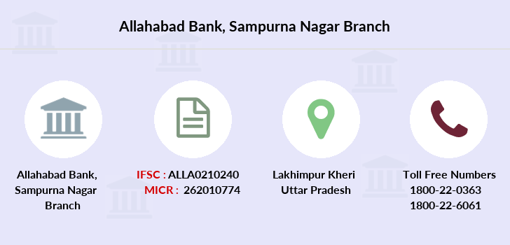 Allahabad-bank Sampurna-nagar branch