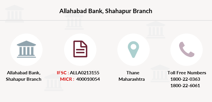 Allahabad-bank Shahapur branch