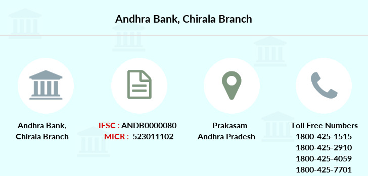 Andhra-bank Chirala branch