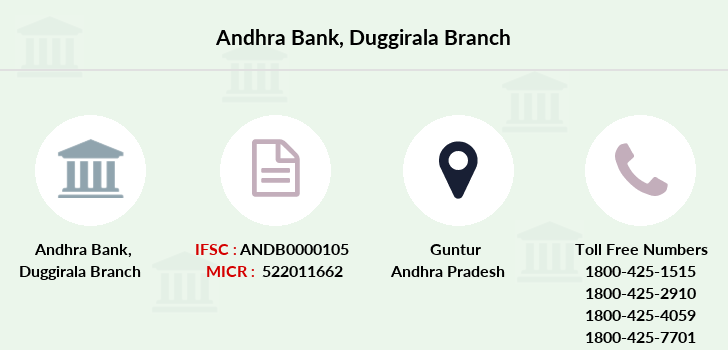 Andhra-bank Duggirala branch