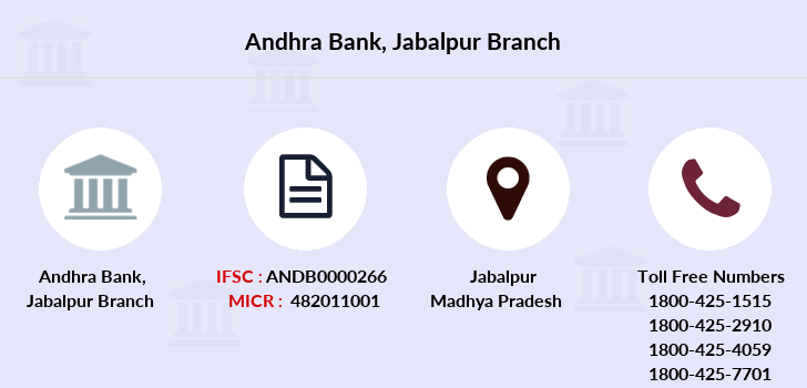 Andhra-bank Jabalpur branch