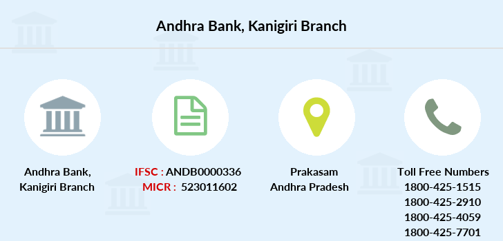 Andhra-bank Kanigiri branch