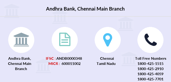 Andhra-bank Chennai-main branch