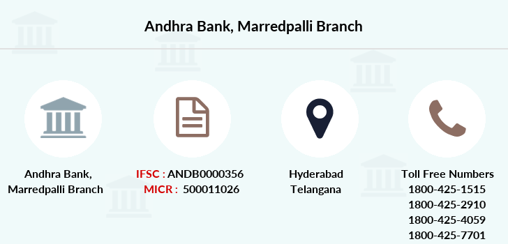 Andhra-bank Marredpalli branch