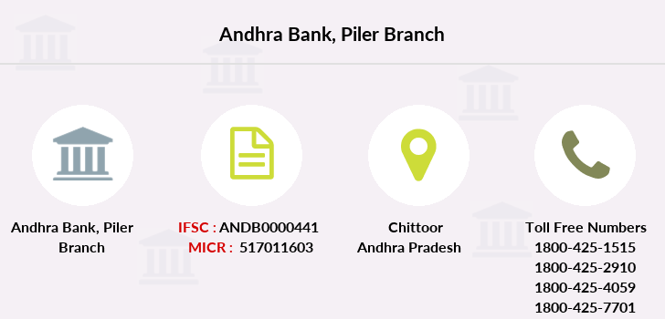 Andhra-bank Piler branch