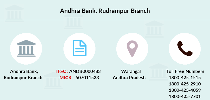 Andhra-bank Rudrampur branch