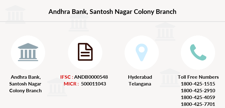 Andhra-bank Santosh-nagar-colony branch